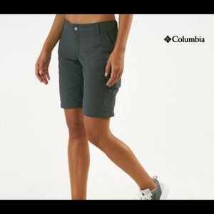 Women's Columbia silver ridge cargo shorts